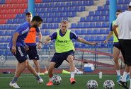 Tik liepos mėnesį pratęstas Kazachstano čempionatas vėl sustabdytas