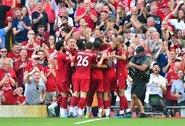 """""""Liverpool"""" nepaliko šansų """"Arsenal"""" futbolininkams"""