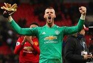 """""""Sky Sports"""": naują kontraktą su """"Man United"""" pasirašęs D.De Gea taps brangiausiai apmokamu vartininku pasaulyje"""