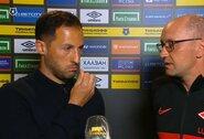 """CSKA treneriui rankos nepadavęs D.Tedesco: """"O ką? Jis moteris?"""""""