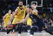 """Solidų pranašumą iššvaisčiusi """"Barcelona"""" įveikė R.Kurtinaičio vadovaujamą """"Chimki"""""""
