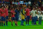 Protestas Meksikoje: algų negaunantys žaidėjai stovėjo vietoje, kol varžovai pelnė 2 įvarčius