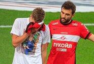 Rusijos čempionato rungtynėse: dramatiška žinutė mirusiai mamai