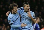 """""""Sky Sports"""": """"Man City"""" ieško pamainos S.Aguero ir D.Silvai, taikinyje – trys žaidėjai"""