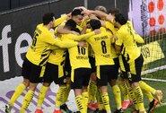 """""""Bundesliga"""" čempionate – triuškinama """"Borussia"""" pergalė"""