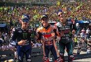 San Marino GP lenktynėse M.Marquezas paskutiniame rate atėmė pergalę iš F.Quartararo