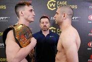 """Sėkmingai svorį prieš titulinę kovą numetęs M.Bukauskas: """"Laikas parodyti, kad esu vertas UFC"""""""
