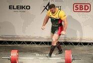 Į pasaulio rekordą pasikėsinęs A.Paulauskas iškovojo Europos čempionato auksą ir bronzą!