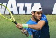 Galingai savųjų padavimų metu žaidęs italas M.Berrettini iškovojo trečią ATP čempiono titulą