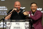 """UFC prezidentas: """"Conoras tikrai nekovos šiais metais"""""""