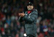 """""""Liverpool"""" rekordą pagerinęs J.Kloppas: """"Man tai nėra labai įdomu"""""""