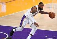 NBA gerbėjus nuvylė L.Jameso atsakymas apie COVID-19 vakciną