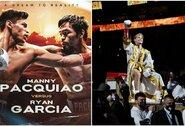 R.Garcia prieš M.Pacquiao: bokso pasaulyje bręsta superkova (papildyta)