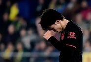 """Taškus toliau barstantys """"Atletico"""" – vos šešti Ispanijoje"""