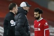 """J.Kloppas paaiškino, kodėl rungtynėse su """"Chelsea"""" pakeitė M.Salah"""
