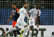 """Iš aikštės išvarius varžovų žaidėją, Neymaras, K.Mbappe ir M.Icardi per 6 minutes """"nužudė"""" """"Montpellier"""""""