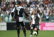 E.Van Der Saras atskleidė, kuo M.De Ligtas yra panašus į C.Ronaldo