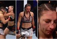 """""""UFC 254"""" turnyre L.Jojua patyrė kraupią nosies traumą"""