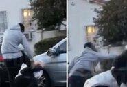 J.R.Smithas suspardė mašinos langą išmušusį vyrą