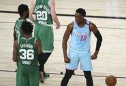 """""""Heat"""" be savo žvaigždės laimėjo prieš """"Celtics"""""""