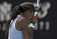 """15-metės pasaka """"Australian Open"""" turnyre baigta"""