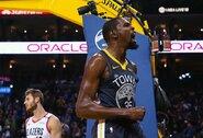 """K.Durantas: """"Jeigu šiais metais tapsime čempionais, mums bus pastatytos statulos"""""""