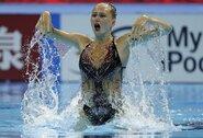 N.Ambrazaitė pasaulio dailiojo plaukimo čempionate aplenkė 5 varžoves