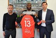 """Oficialu: T.Moffi jungiasi prie """"Lorient"""" klubo"""