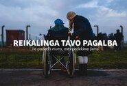 Paralimpiečiai kviečia padėti apsaugoti tuos, kurie rūpinasi neįgaliaisiais