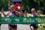 Bėgimą aplink Elektrėnų marias vėl laimėjo Viršilas, moterų grupės nugalėtoją lėmė vos 0.3 sek.