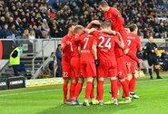 """Vokietijoje vėl kritę """"Hoffenheim"""" ketvirtą kartą iš eilės nelaimėjo"""