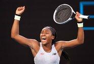 """15-metė sudrebino teniso pasaulį – eliminuota praėjusių metų """"Australian Open"""" čempionė"""