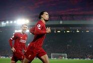 """V.Van Dijko neįtikina """"Liverpool"""" turima persvara Anglijoje: """"Tai dar nieko nereiškia"""""""