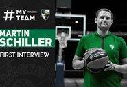 """M.Schillerio pirmasis interviu: """"Turime labai įdomią komandą"""""""