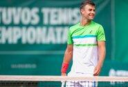 Pirmoji Lietuvos teniso čempionato diena – be netikėtumų
