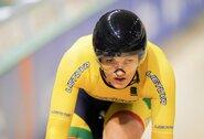 Europos dviračių treko čempionate visi lietuviai krito aštuntfinalyje