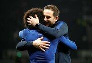 """F.Lampardas: """"Nebūsiu nusivylęs, jei Willianas mus paliks"""""""