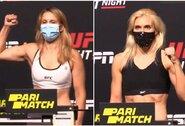Nuogai išsirengti nereikėjo: J.Stoliarenko ir J.Kunickajos kova UFC – patvirtinta