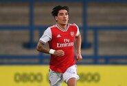 """Po 8 mėnesių pertraukos į rikiuotę sugrįžęs H.Bellerinas sužaidė rungtynes atstovaudamas """"Arsenal"""" jaunimo komandai"""