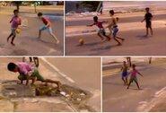 Privalote pamatyti: purvinose Brazilijos gatvėse auga naujasis C.Ronaldo