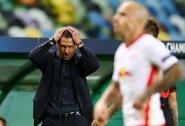 """D.Simeone gyrė """"RB Leipzig"""" ir neieškojo pasiteisinimų: """"Jie pasižymėjo dideliu ryžtu, entuziazmu ir šviežumu"""""""