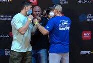 UFC prezidentui ranką paspaudęs M.Bukauskas su varžovu susitiko akis į akį