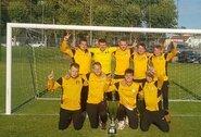 Finišo tiesiąją Jurbarke pasiekė visos Lietuvos mažojo futbolo čempionato komandos
