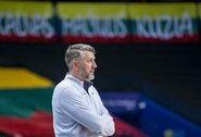 """Visišką atsakomybę prisiėmęs D.Maskoliūnas pasigedo žaidėjų entuziazmo ir širdies: """"Šiandien pasigedau net energijos ant suoliuko"""""""