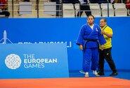"""""""Grand Slam"""" dziudo turnyre S.Jablonskytė neatsilaikė prieš indę"""