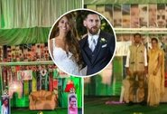 Pasišventimas ar pamišimas? L.Messi fanas iš Indijos susituokė per argentiniečio gimtadienį ir šventę papuošė jo iškarpomis