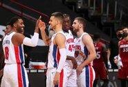 D.Sirvydis pelnė pirmąjį tašką NBA