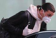 Treniruotės metu susižeidęs Z.Ibrahimovičius sugrįžo į Švediją