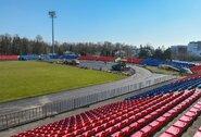 """Pertrauką nuo futbolo FK """"Panevėžys"""" išnaudoja stadiono renovacijai"""