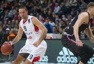 """M.Kalnietis žaidė ilgai ir naudingai, bet """"Lokomotiv-Kuban"""" pralaimėjo """"Partizan"""""""